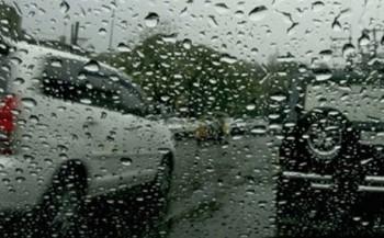αυτοκινητο - βροχή