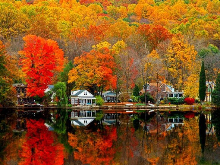 colorful-fall-photos-reflection-on-water