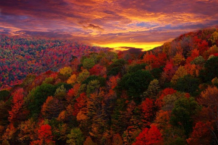 colorful-fall-photos-sunset