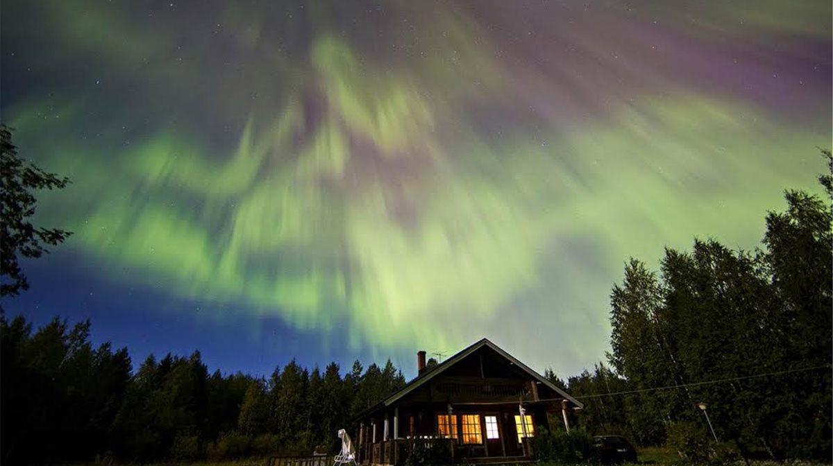 Ηλιακή καταιγίδα στη Φινλανδία.