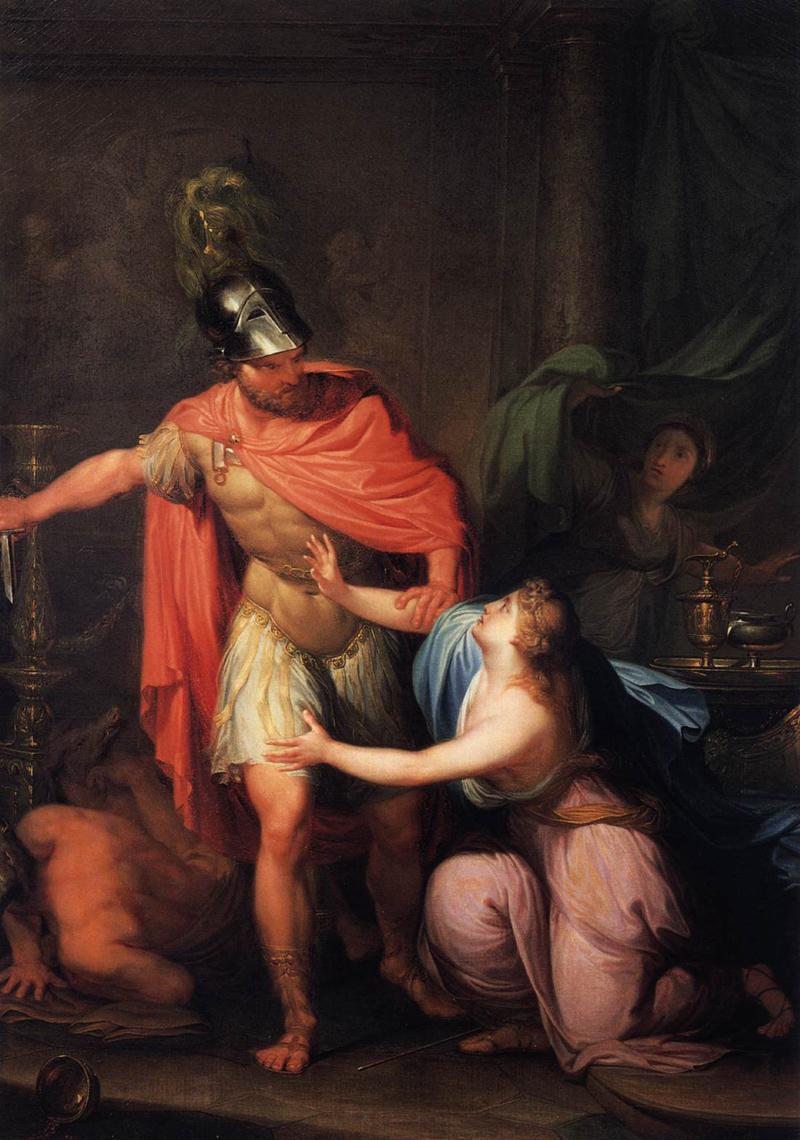 Hubert_Maurer_-_Circe_und_Odysseus