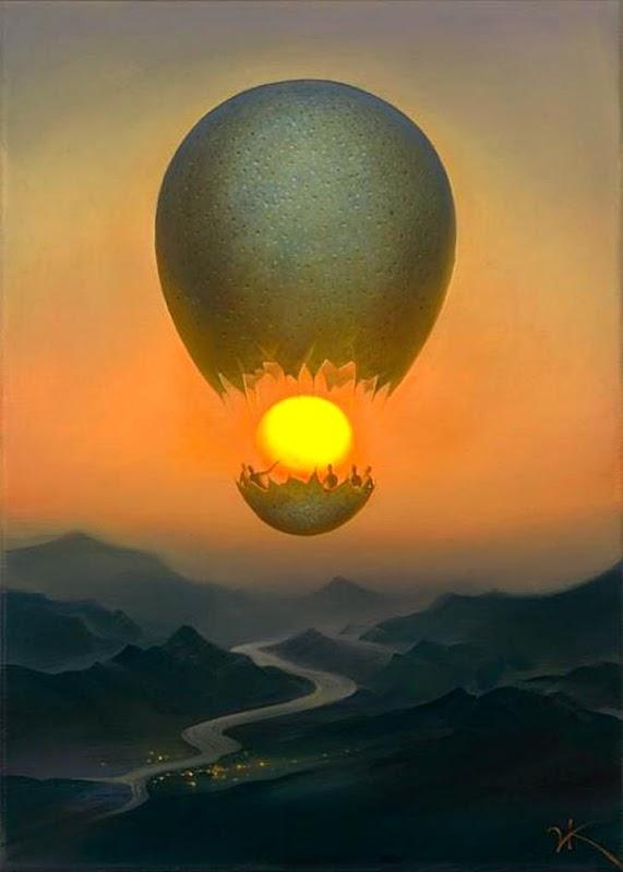 Vladimir Kush 1965 - Russian painter - The  Surreal Landscapes - Tutt-Art 16