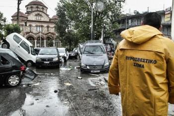 Η φύση εκδικείται. Από τις σφοδρές βροχοπτώσεις της 24/10 δημιουργήθηκαν πλημμυρικά φαινόμενα για άλλη μια φορά στην Αττική.