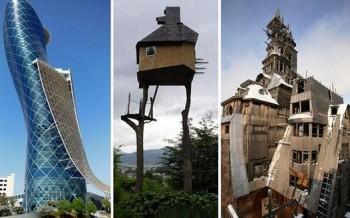 Κτίρια που αψηφούν τη βαρύτητα