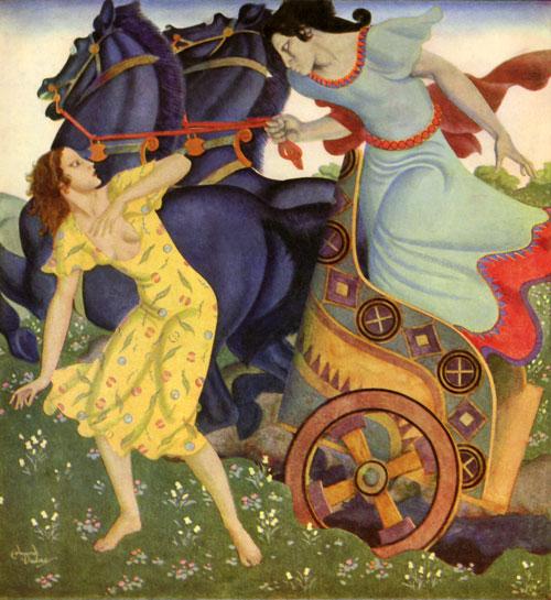 Πλούτωνας και Περσεφόνη - Edmund Dulac
