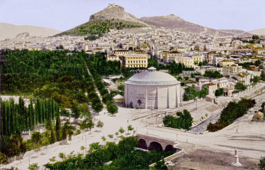 Αναπαράσταση του Ιλισού κατά το 1896 (http://envifriends.blogspot.gr)