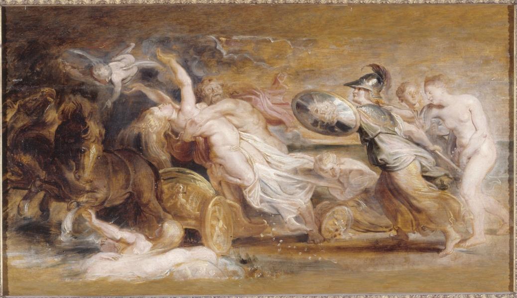 Αρπαγή της Περσεφόνη -  Rubens 1577