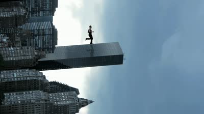 skyscraper-city-superhero