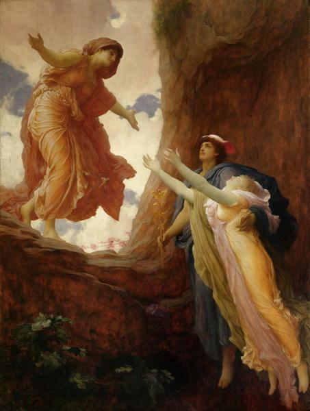 Frederick Leighton, «Η επιστροφή της Περσεφόνης», 1891