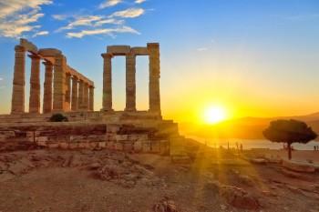 greece_athens_cape_sounio_sunset