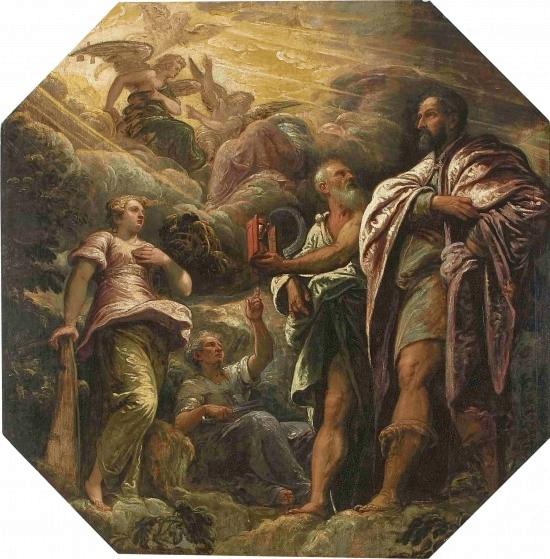 η αλληγορία της ηθικής - Tintoretto , 1585