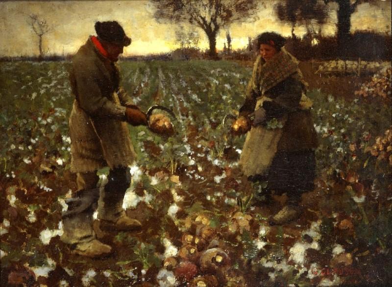 Δεκέμβριος - Sir George Clausen, R.A., R.W.S., R.I. - 1882