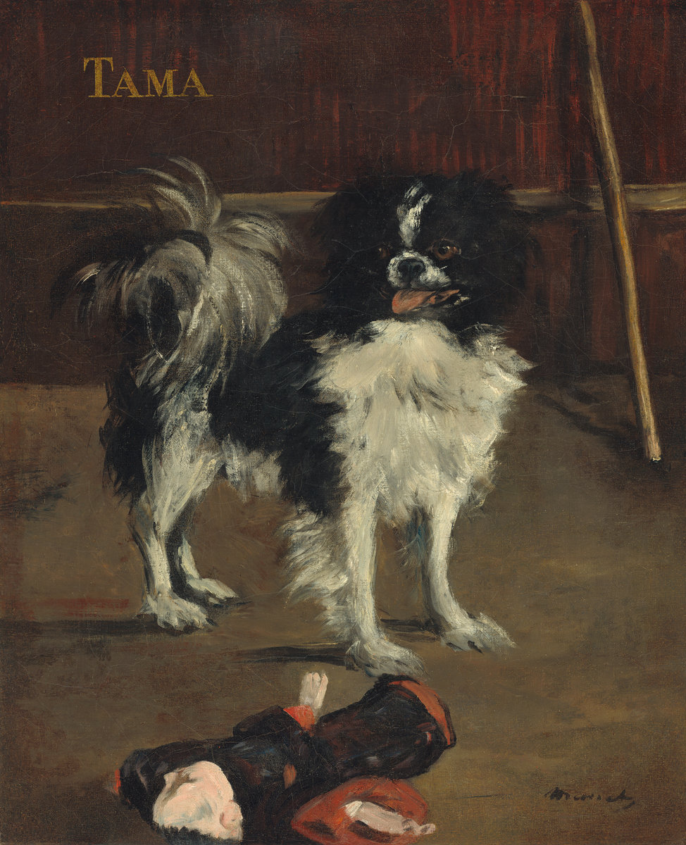 Τama ο γιαπωνέζικος σκύλος - Édouard Manet - circa 1875