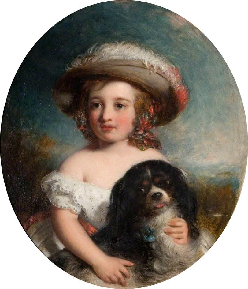 αγαπημένε μου σκύλε Charles Baxter - 1853