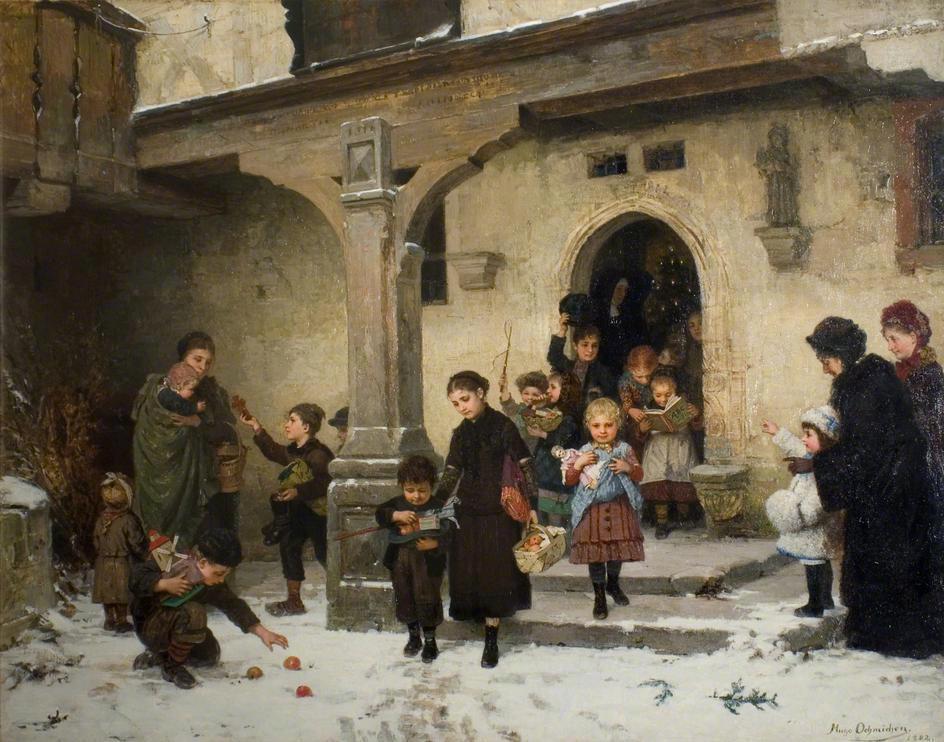 Χριστουγεννιάτικα δώρα- Hugo Oehmichen - 1882
