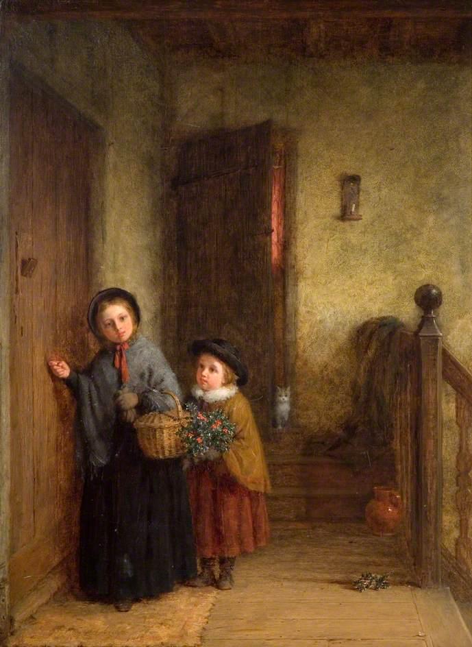 Χριστουγεννιάτικοι επισκέπτες Frederick Daniel Hardy - 1869
