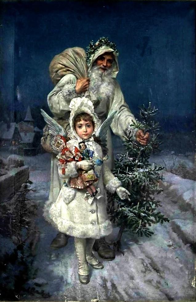 ανάμνηση των Χριστουγέννων - Antonio Garcia y Mencia