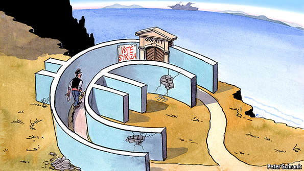 economist - Η εποχή του ΣΥΡΙΖΑ