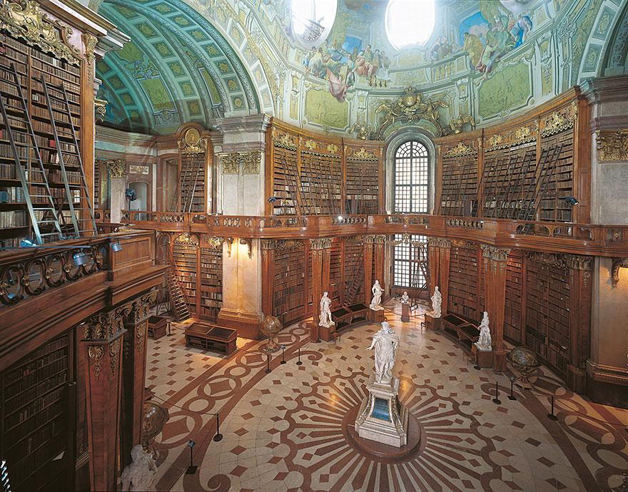 βιβλιοθήκη ως μαρτυρία πολιτισμού