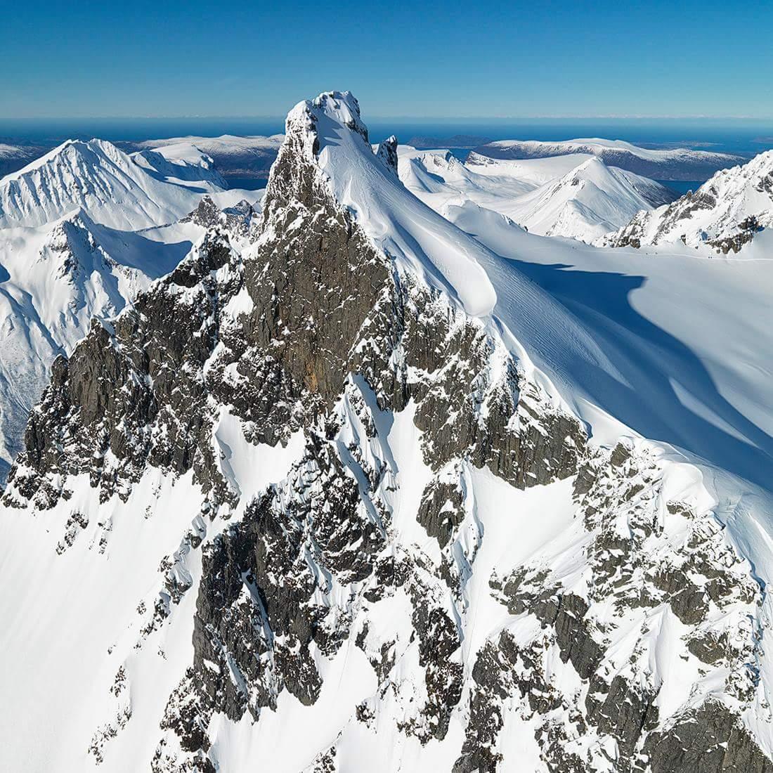 Φωτογραφία από το όρος Kolsåstinden στη Νορβηγία.
