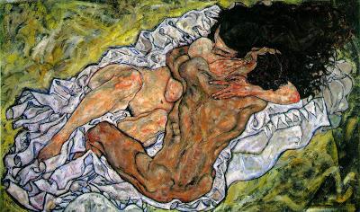 Έγκον Σίλε - Αγκαλιά (Οι Εραστές) 1917