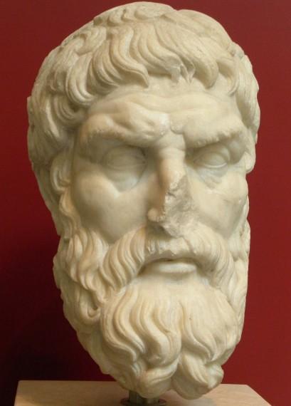 Ο Επίκουρος (341 π.Χ. – 270 π.Χ.) ήταν αρχαίος Έλληνας φιλόσοφος. Ίδρυσε δική του φιλοσοφική σχολή, εν ονόματι Κήπος του Επίκουρου, η οποία θεωρείται από τις πιο γνωστές σχολές της ελληνικής φιλοσοφίας.