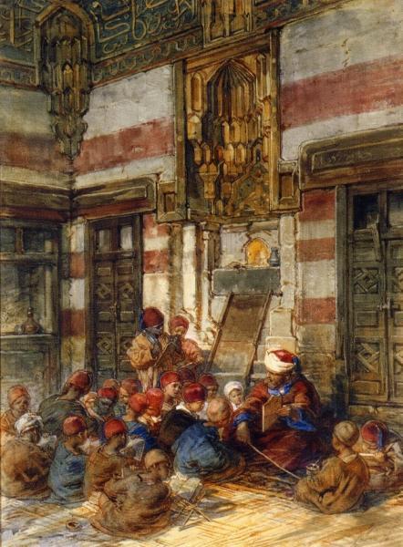 Το αραβικό σχολείο Guido Bach - 1876