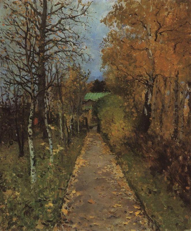 Φθινόπωρο Konstantin Korovin 1888