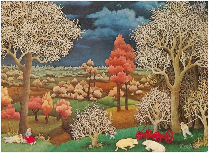 Φθινόπωρο Ivan Generalic 1949