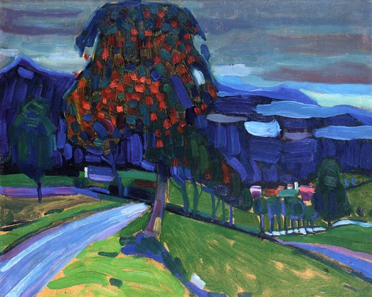 Φθινόπωρο στο Murnau Wassily Kandinsky 1908