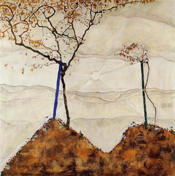 φθινοπωρινός ήλιος Egon Schiele 1912
