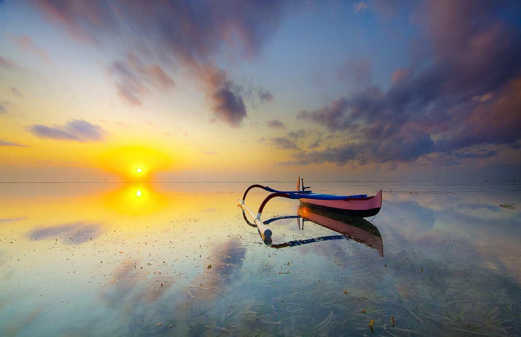 Το Σανούρ ένα από το καλύτερα μέρη της Ινδονησίας για να απολαύσει κάποιος την ανατολή του ηλίου.