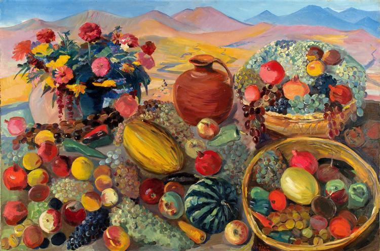 Δώρα του Φθινοπώρου Martiros Saryan 1954