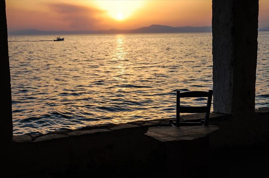 Ηλιοβασίλεμα στην Άφησσο Μαγνησίας