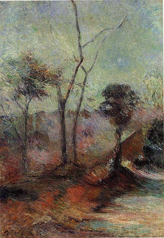 Τοπίο - Paul Gauguin 1885