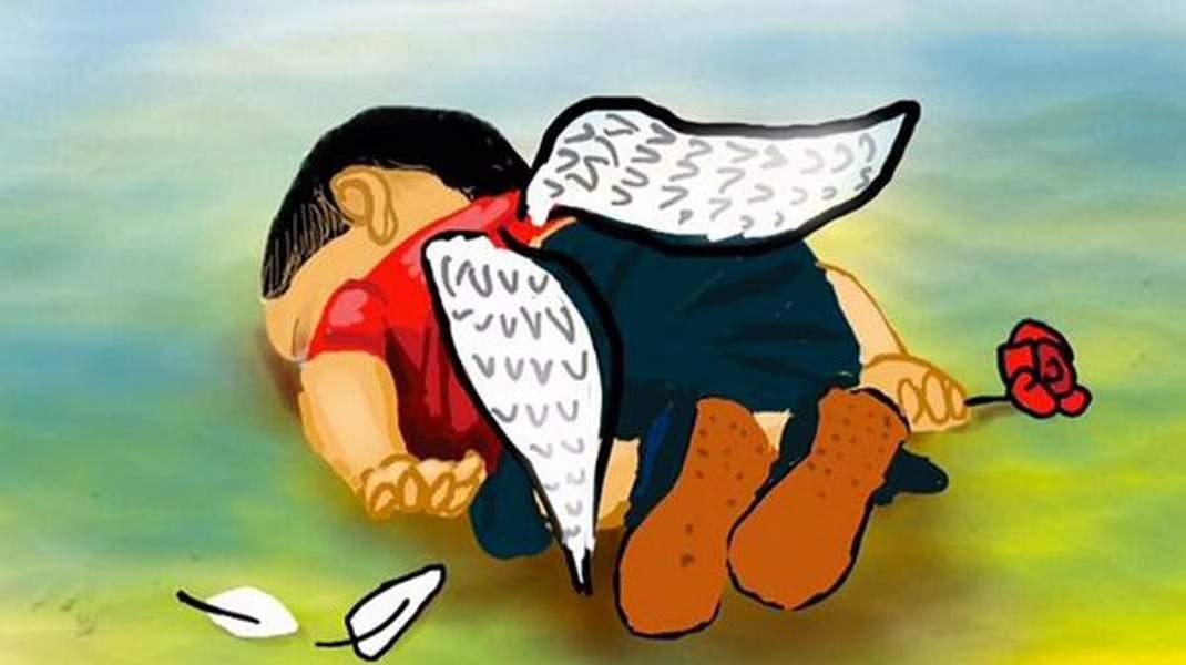 Η εικόνα του παιδιού που ξέβρασε το κύμα νεκρά στην Αλικαρνασσό έχει στοιχειώσει την υφήλιο...