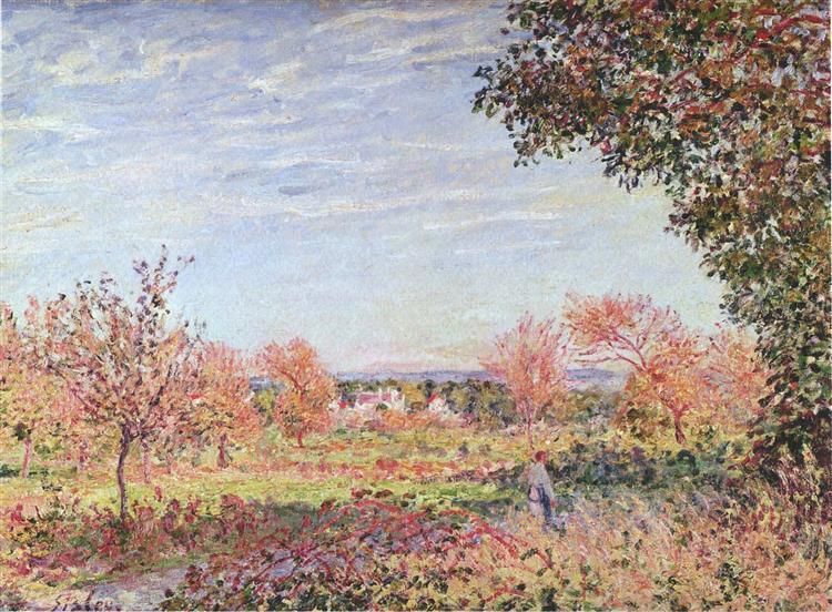 πρωινό Σεπτέμβρη Alfred Sisley 1887