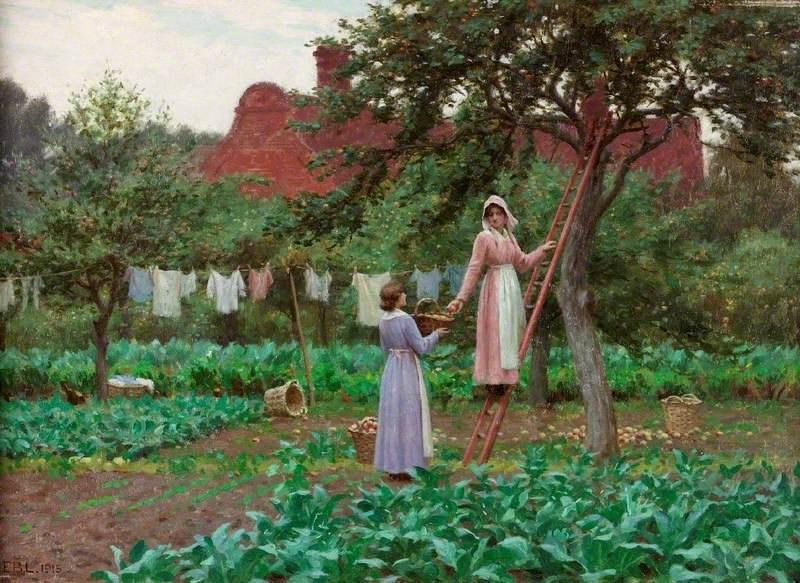 Σεπτέμβρης Edmund Blair Leighton - 1915