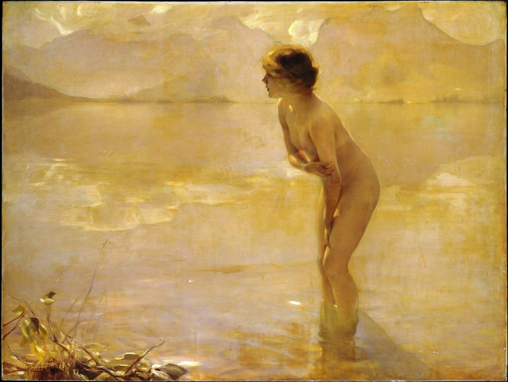 μια αυγή του Σεπτεμβρίου Paul Emile Chabas - γύρω στο 1912