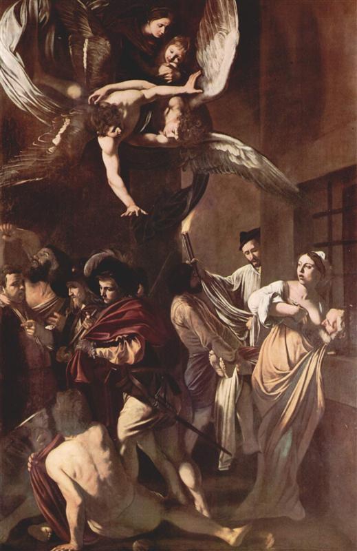 Τα επτά έργα του Ελέους - Καραβάτζιο 1607