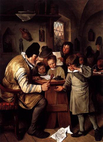 Jan STEEN, Ο σχολάρχης 1663-65