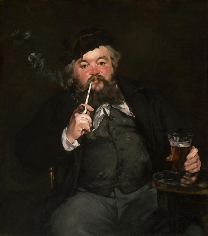 ένα καλό ποτήρι μπύρας - Édouard Manet - 1873