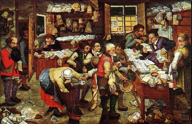 Πληρώνοντας το φόρο -Pieter Brueghel ο νεότερος
