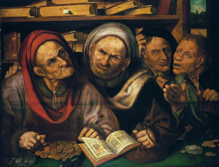 φοροεισπράκτορες -Quentin Metsys (1465-1530)