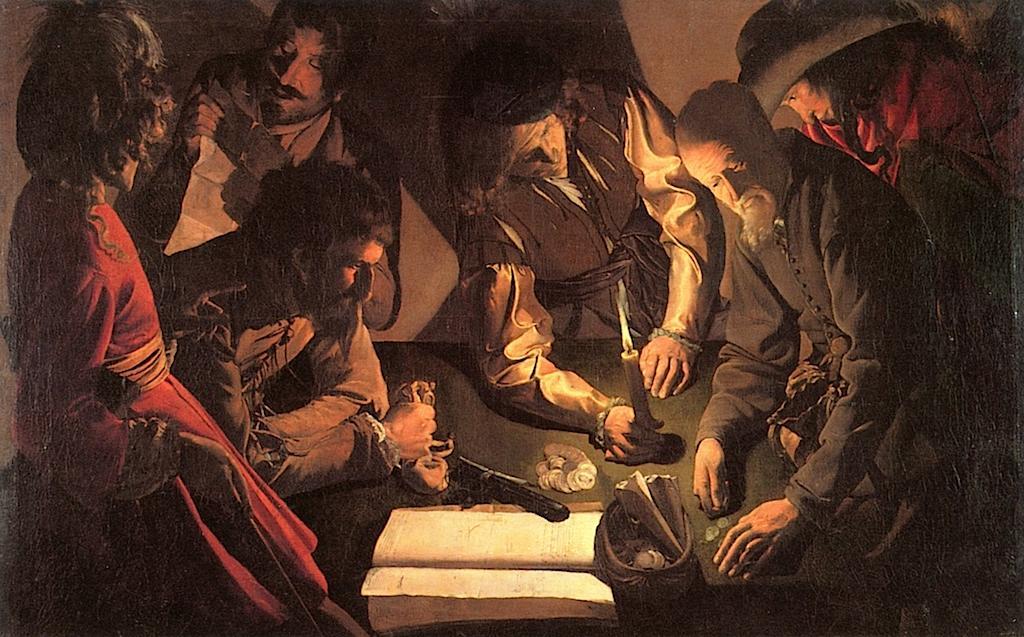 Η είσπραξη των φόρων -Georges de la Tour - 1620