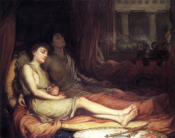 Ο Υπνος και ο αδελφός του Θάνατος - John William Waterhouse