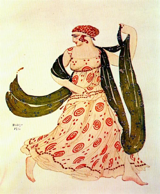 Κλεοπάτρα μια Ελληνίδα χορεύτρια Leon Bakst 1910