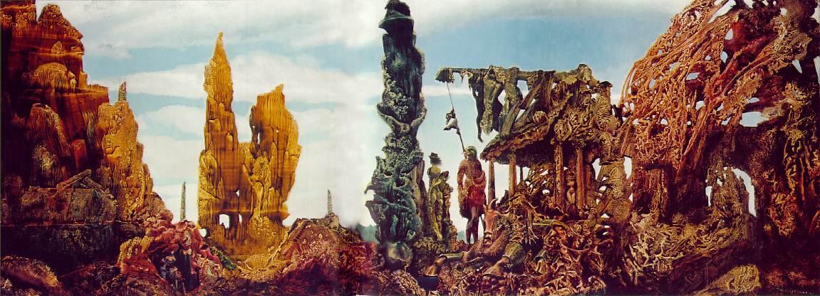Η Ευρώπη μετά τη βροχή II -Max Ernst 1941