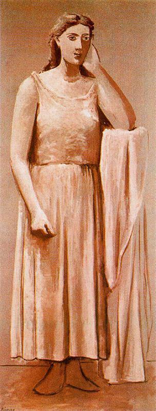 Ελληνίδα γυναίκα - Pablo Picasso 1924