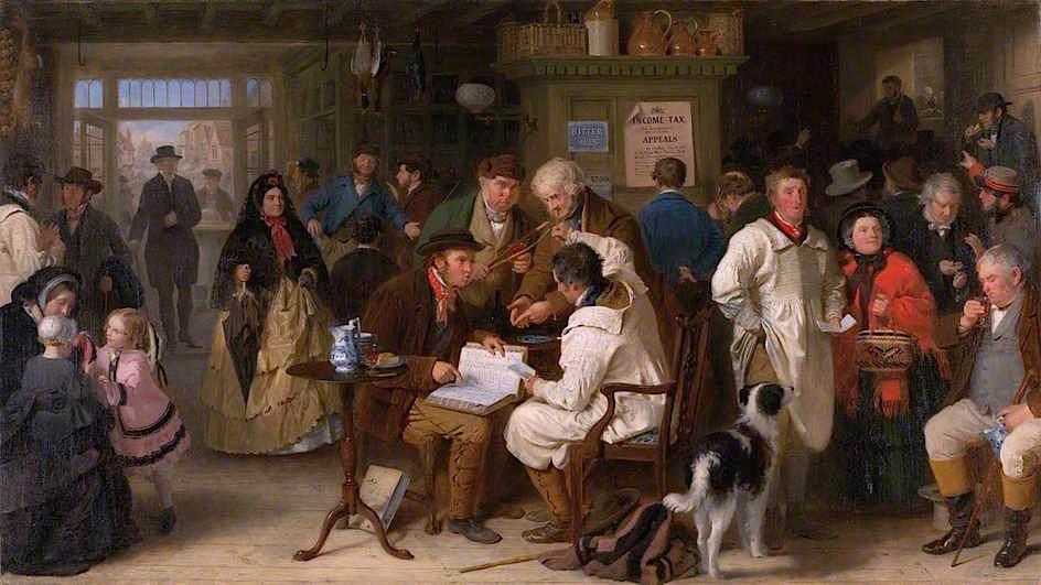 Ο Φόρος Εισοδήματος - John Morgan - 1861